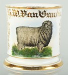 Ram Sheep Shaving Mug