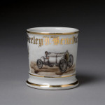 Automobile Racer's Shaving Mug