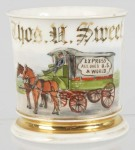Express Wagon Shaving Mug
