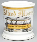 Lake Rowland Elevated Railway Shaving Mug