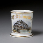 Steam Locomotive Shaving Mug