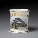 Steam Locomotive Shaving Mug