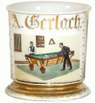 Billiards Shaving Mug