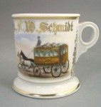 Stagecoach Shaving Mug