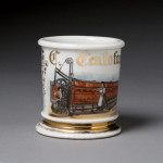 Textile Machine Shaving Mug