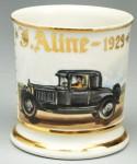Automobile Shaving Mug