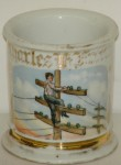 Telephone Lineman Shaving Mug