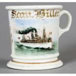 Battleship Shaving Mug