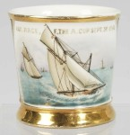 Sail Boat Race Shaving Mug