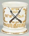 Military Shaving Mug
