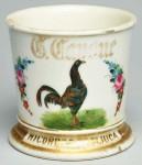Rooster Shaving Mug