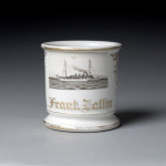 Navy Ship Shaving Mug