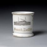 Navy Ship Shaving Mug