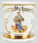 Musician Shaving Mug