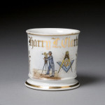 Surveyor and Fraternal Shaving Mug