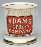 Adams Express Shaving Mug