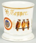 Order Of Owls & Brewery Union Shaving Mug