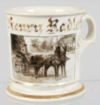 Photographic Carriage Shaving Mug