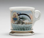 Naval Battle Shaving Mug