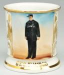 Policeman Shaving Mug