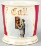 Telephone Shaving Mug