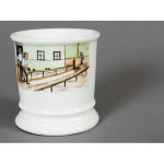 Bowling Alley Shaving Mug