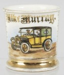 Yellow Taxi Cab Shaving Mug