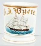 Sailing Ship Shaving Mug