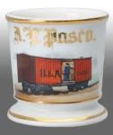 Railcar Shaving Mug