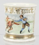 Football Players Shaving Mug