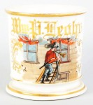 Fireman Shaving Mug
