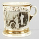 Photographic Delivery Truck Shaving Mug