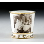 Photographic Barber Shaving Mug