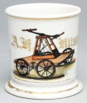 Railroad Handcart Shaving Mug