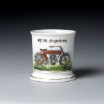 Motorcycle Shaving Mug