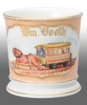 Trolley Shaving Mug