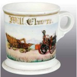 Steam Engine & Separator Shaving Mug