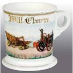 Steam Engine & Separator Shaving Mug