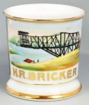 Steel Bridge Builder Shaving Mug