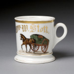 Coal Wagon Shaving Mug