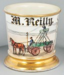 Early Telephone Line Shaving Mug