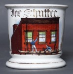 Brick Painter Shaving Mug