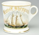 Sailboat Shaving Mug