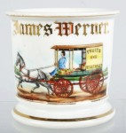 Delivery Wagon Shaving Mug