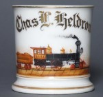 Locomotive Shaving Mug