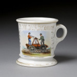 Railroad Shaving Mug