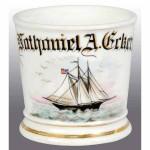 Sailboat Shaving Mug