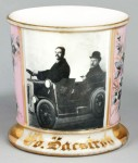 Men in Car Photographic Shaving Mug