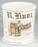Newspaperman Shaving Mug
