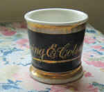 Gold Name Shaving Mug